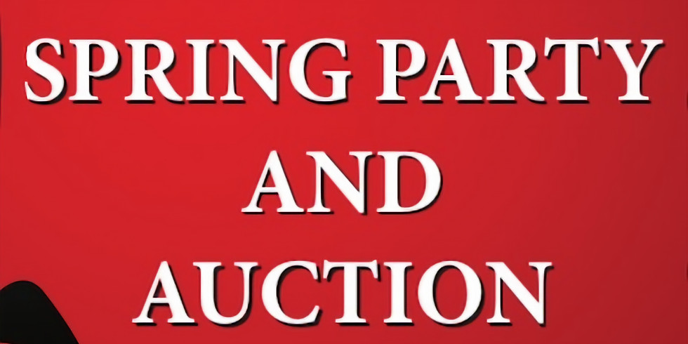 Spring party and Auction