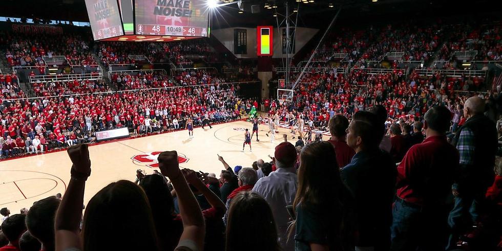 Family Night at Stanford Basketball Game vs. Ariz State