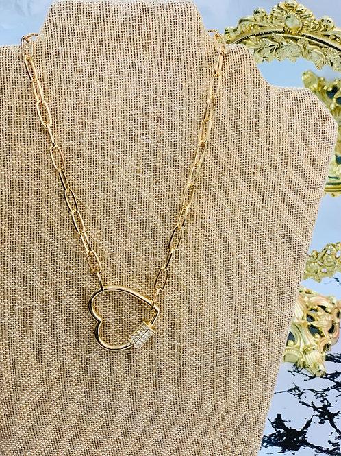 Chain w/ Hearth pendant