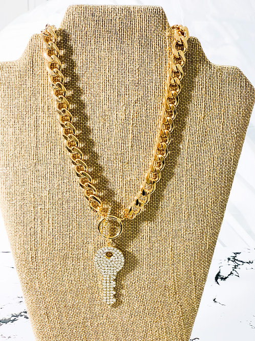 Cuban Link / Key pendant
