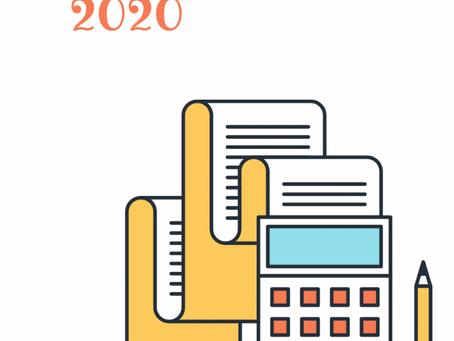 D151: Parametros para la presentación del 2020