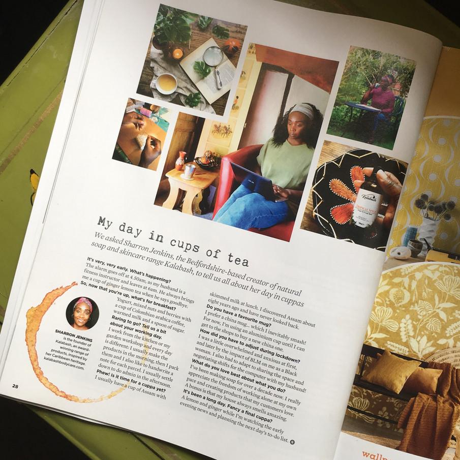 Simple Things Magazine Sharron Jenkins.J