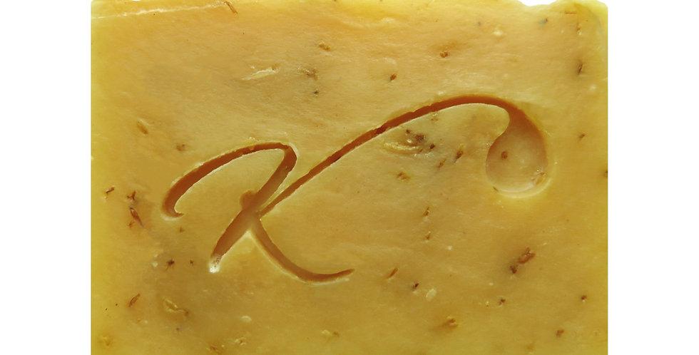 Tropical Sunshine - Lemongrass and Marigold Artisan Bar Soap
