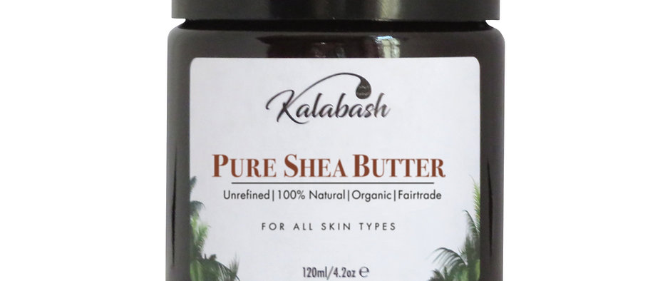 Pure Unrefined & Organic Shea Body Butter