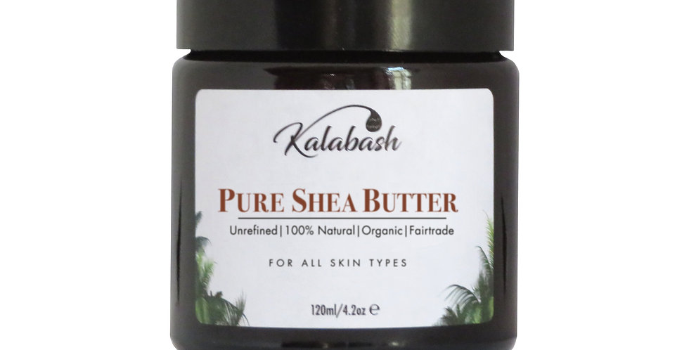 Shea body butter, organic shea abutter, unrefined shea butter, fair trade by Kalabash Bodycare