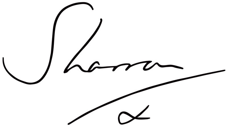 Sharron signature