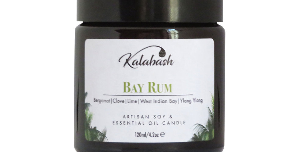 Bay Rum - Soy Wax & Essential Oil Candle