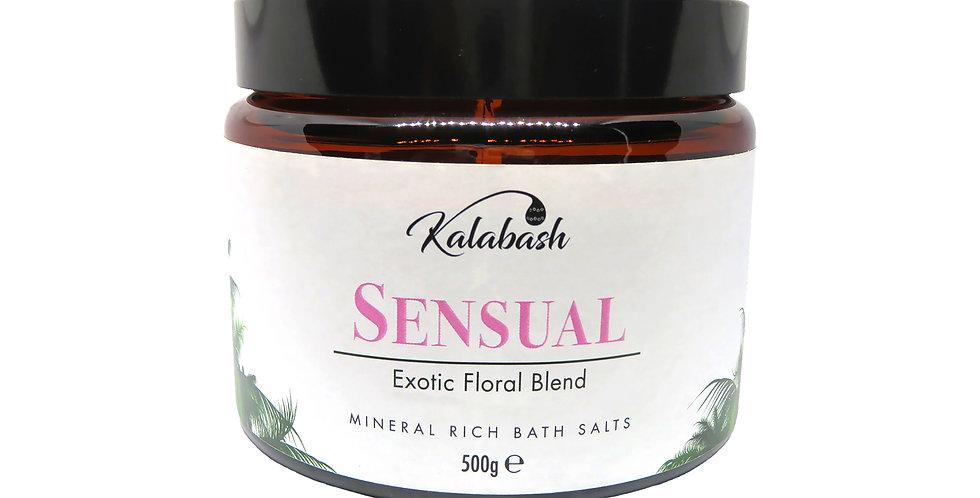 Mineral Rich Bath Salts - Ylang Ylang & Geranium Blend