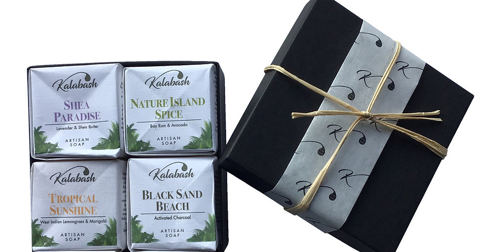 Mini soap cube gift set, palm free soap gift set