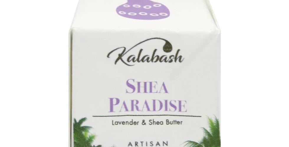 Shea Paradise - Lavender &  Organic Shea Butter Artisan Mini Soap Cube