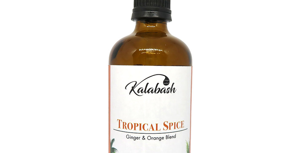 Organic Body Oil - Ginger & Orange Blend
