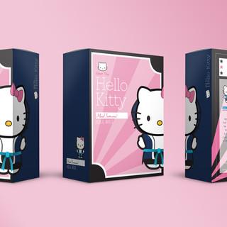 Plush Toy Packaging: Samurai Kitty