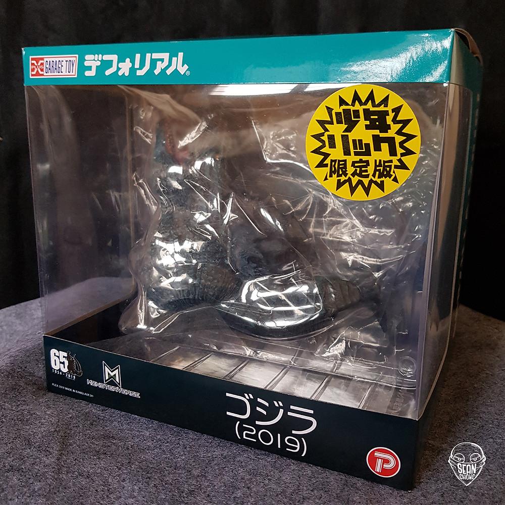 Box packaging of Defo-Real Godzilla 2019