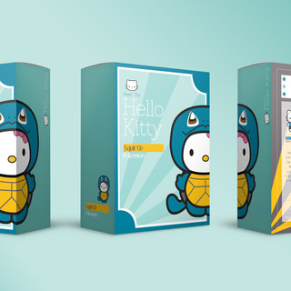 Plush Toy Packaging: Squirtle