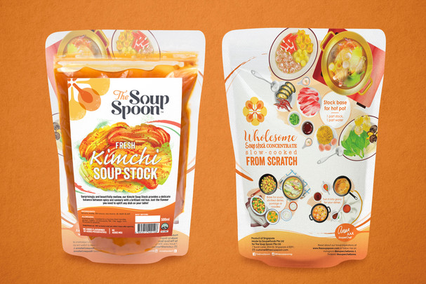 The Soup Spoon: Soup Stock Packaging