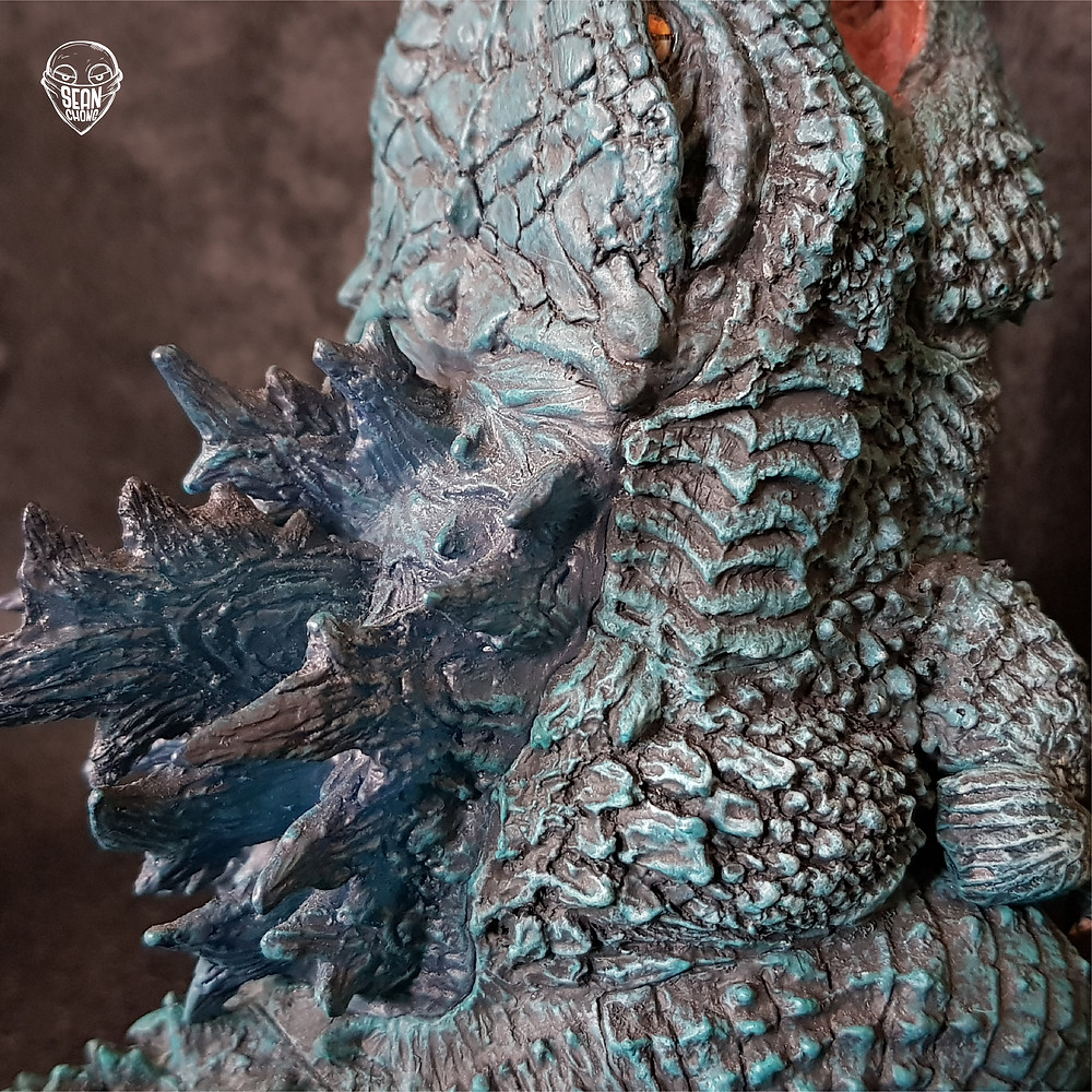 The body of Defo-Real Godzilla 2019