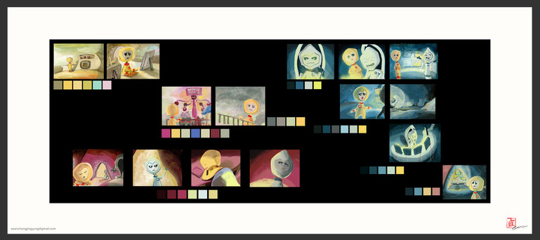 e.Liens 2012: Colour Script