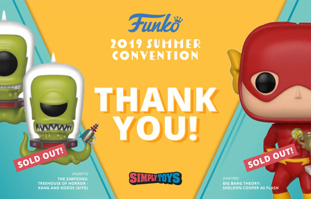 Funko 2019 SDCC Summer Convention Thank You Banner