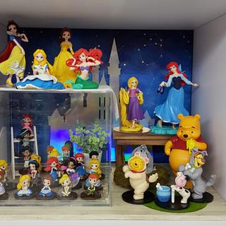 Visual Merchandise for Q Posket: Disney