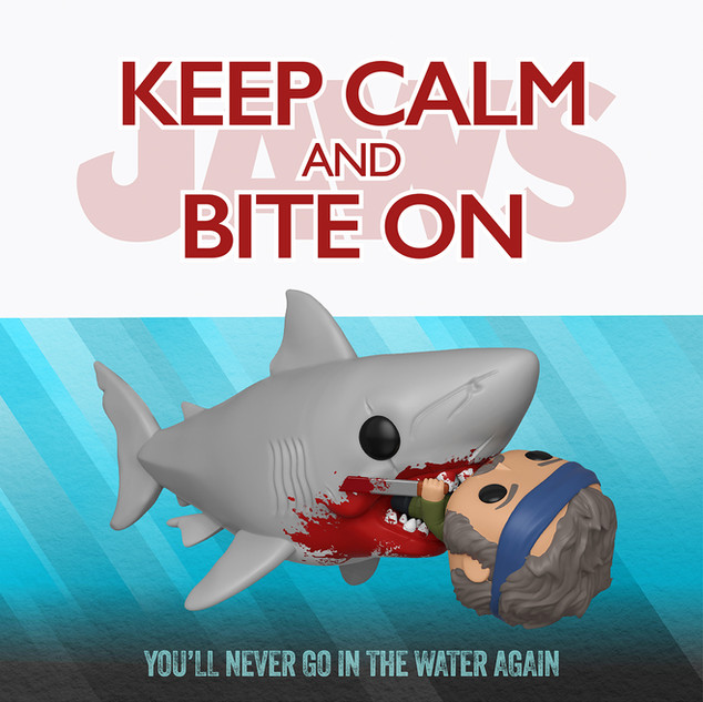 Funko: Keep Calm and Bite On