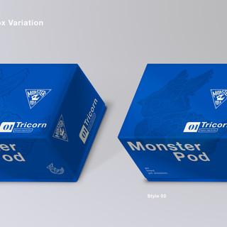 Monster Pod: Toy Packaging Box Variation