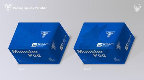Monster Pod: Packaging Box Variation