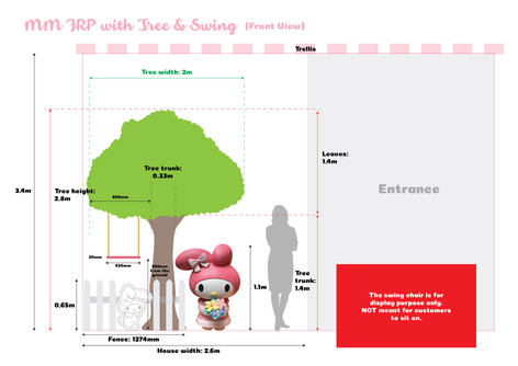 MM Tree with Swing Setting