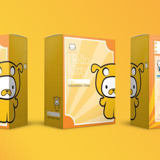 Plush Toy Packaging: Jake