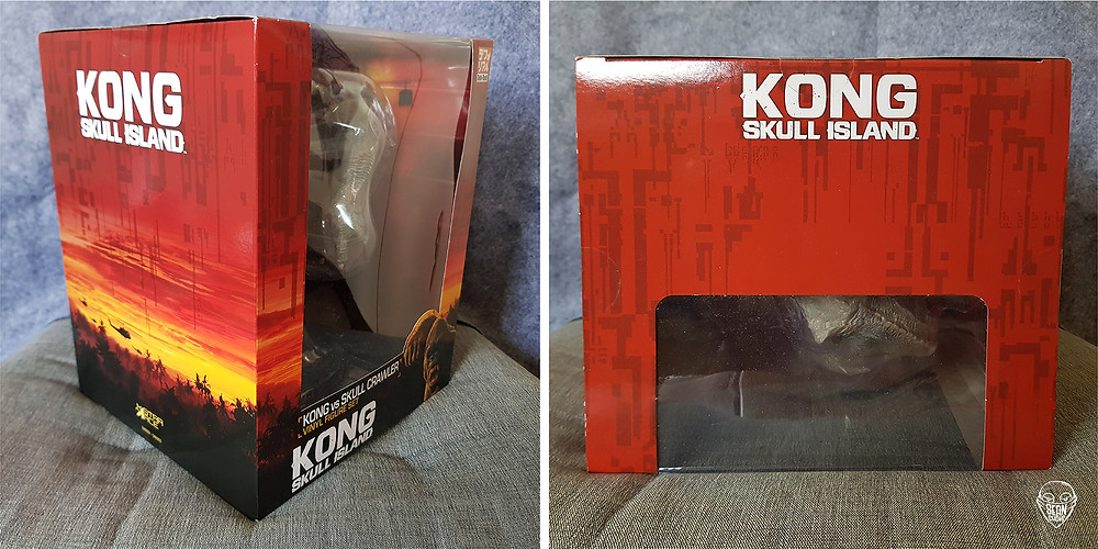 [Image 2] Box packaging of Defo-Real Kong vs Skull Crawler.