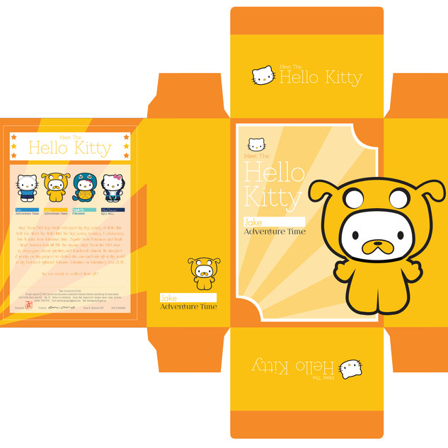 Plush Toy Packaging: Jake