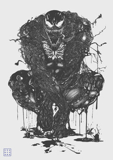 Venom (A0 Drawing)