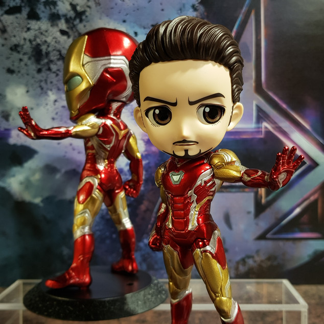Visual Merchandise for Q Posket: Marvel - Iron Man