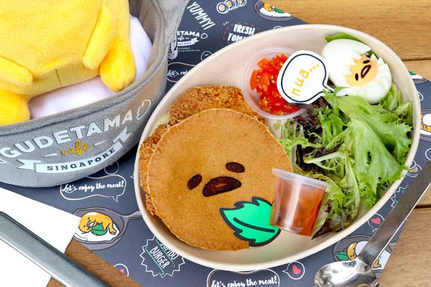 Nua Chicken Cutlet Pancake