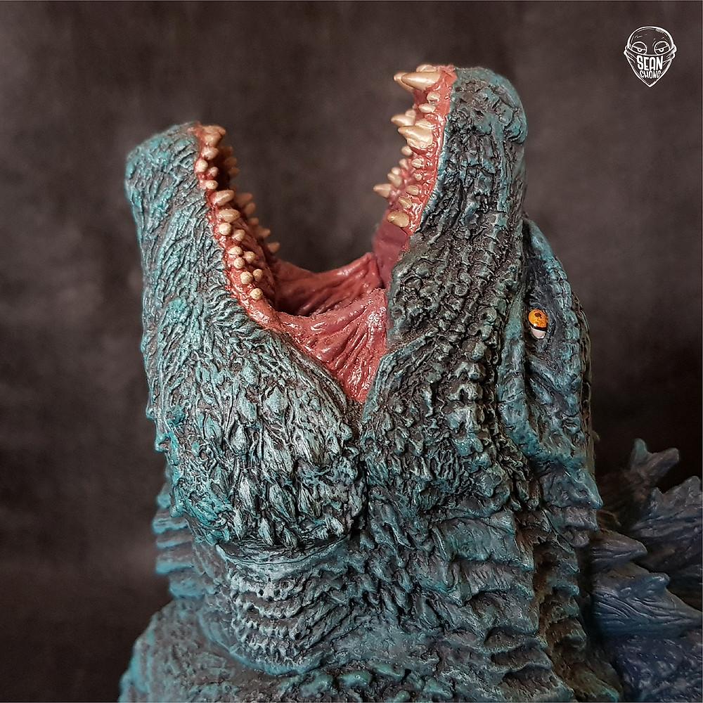 Head-sculpt of Defo-Real Godzilla 2019