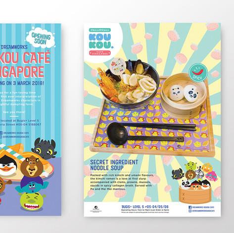 DW KouKou Café Posters