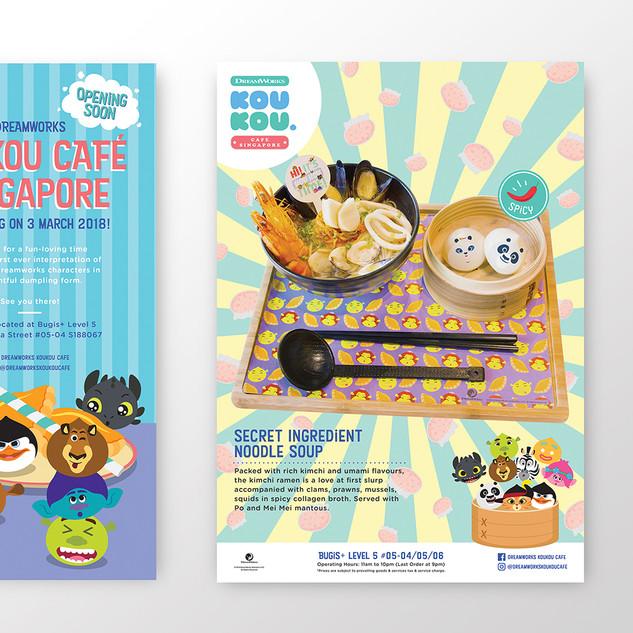 Dreamworks KouKou Café Poster