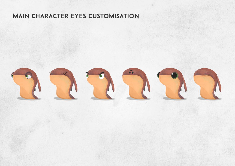 Main Character Eyes Customisation