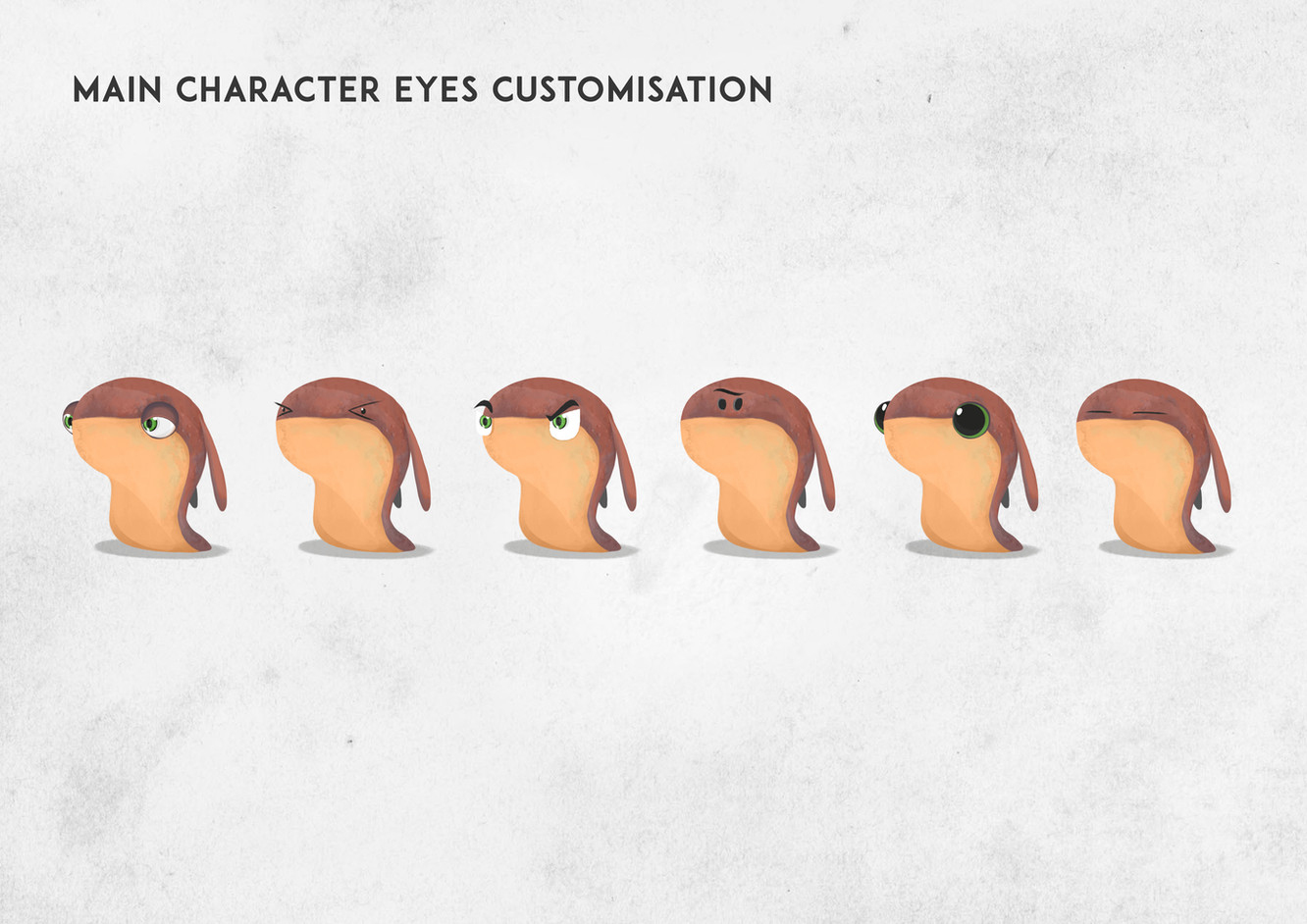 Main Character Eyes Customisation