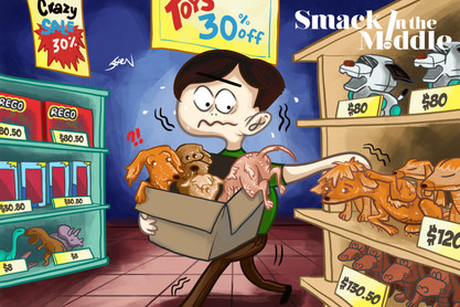 Smack in The Middle: Dog Abandonment