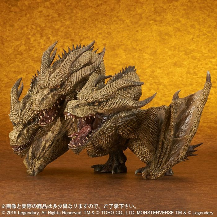Official product image of Defo-Real King Ghidorah 2019 (Standard version)