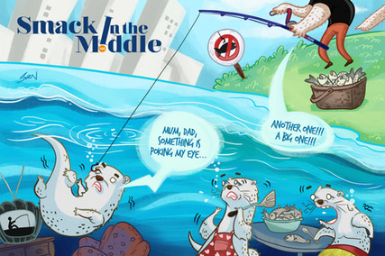 Smack in The Middle: Illegal Fishing