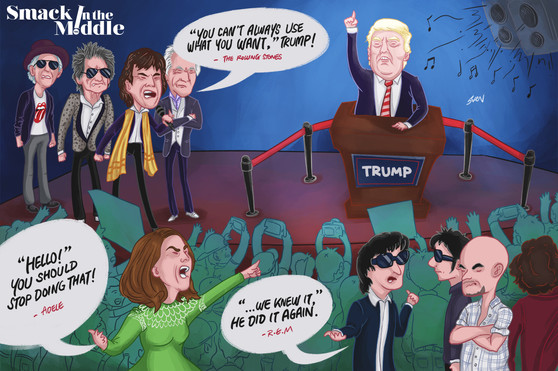 Smack in The Middle: Stop it Trump