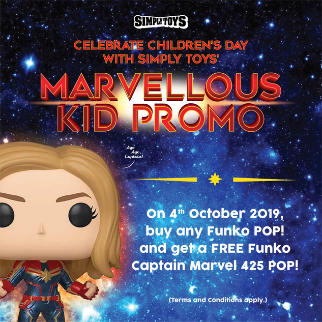 Funko Childrens' Day Promo