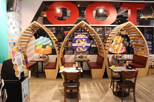 DW KouKou Café Booth Seat