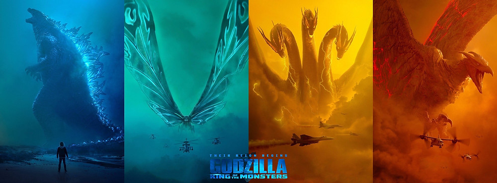 Godzilla: King of the Monsters featured these 4 iconic Toho monsters.
