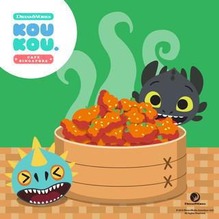 DW KouKou Café Marketing Collaterals