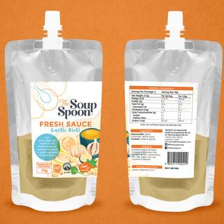 The Soup Spoon: Sauce Label