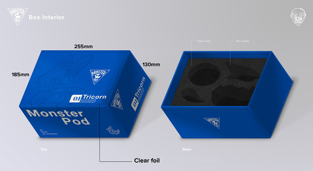 Monster Pod: Packaging Box