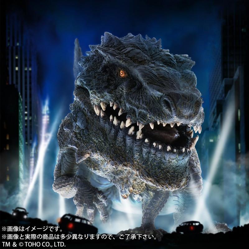 Promotional image of Defo-Real Godzilla 1998