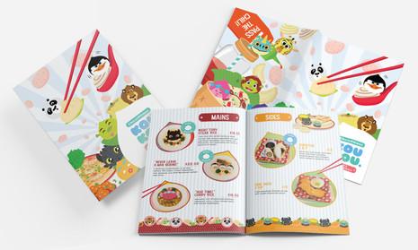 Dreamworks KouKou Café Menu